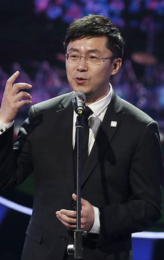 爱奇艺首席执行官龚宇博士开场致辞