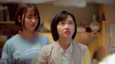 姜小果愧疚极了一直向罗艳道歉  罗艳却一副云淡风轻的样子