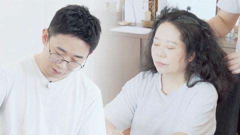 家庭组 杨迪暖心帮妈妈染发 自曝早年上节目被质疑